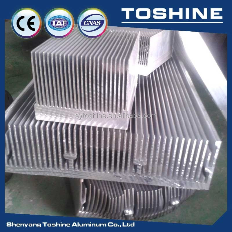 OEM extrude electronic cooling heatsinks direct from shenyang Toshine