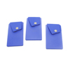 2015 high quality professional buttons silicone id card holder