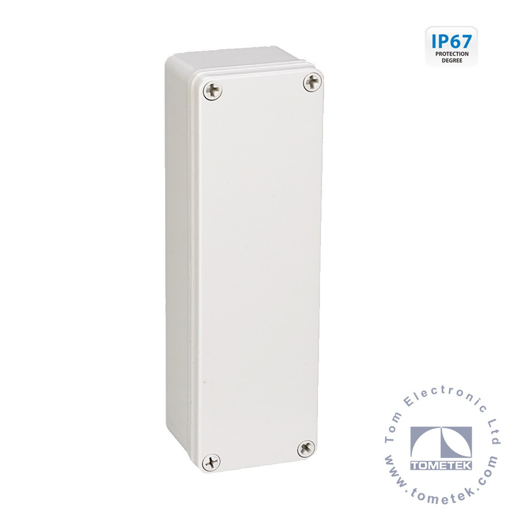 80*250*70mm IP67 electrical outlet box type outdoor plastic electric control box