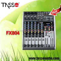 China digital studio mixer soundcraft 8 channel professional audio mixers console