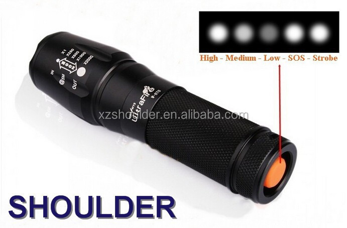 Underwater 2000LM LED Lamp Flashlight Torch XM-L XML L2 LED Lantern for 3*AAA or 1* 18650 or 1*22650 battery