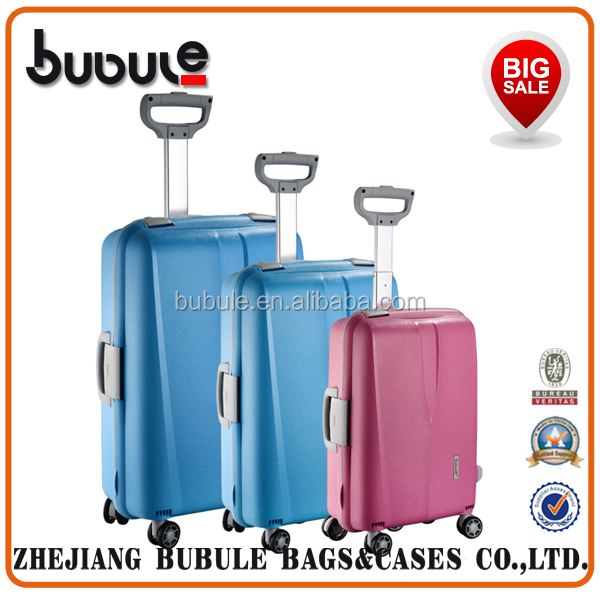 BUBULE 2015 fashion trolley luggage alibaba trolley bag small trolley bag
