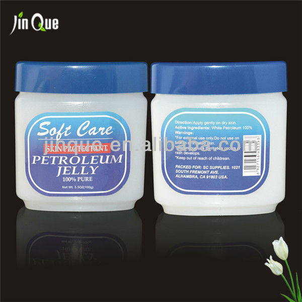OEM 8g 30g 50g 100g 200g 250g 369g perfumed petroleum jelly with free design