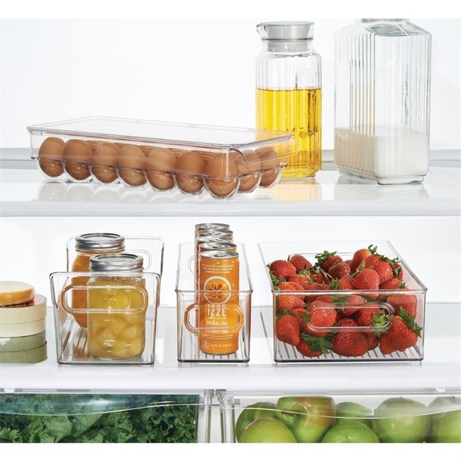 Fridge Egg Holder egg Storage container for Covered egg tray