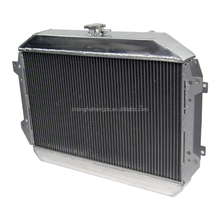 OEM aluminum Auto spare parts car Radiator forNissan Datsun 240Z 260Z AT/MT 1970-1975 with build-in oil cooler