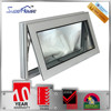 strong and durable AS2047 standard aluminum anti-noise windows with Dor Corning silicon sealant