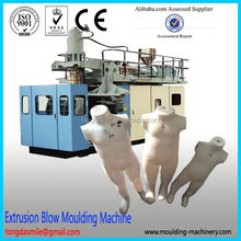 Fully automatic blow molding machine extrusion type plastic dolls making machine Plastic balls blow moulding machine