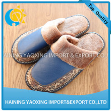 Genuine cowhide slipper winter slipper