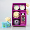 sola flower and scented candle aroma fragrance oil diffuser gift set