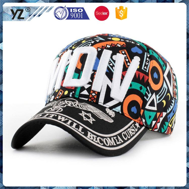 Hot selling custom design fitted baseball cap and hat with good price