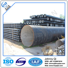 Custom Made DI Pipe Fittings Bituminous Coat Ductile Iron Water Supply Pipes DN150 Piping Fittings