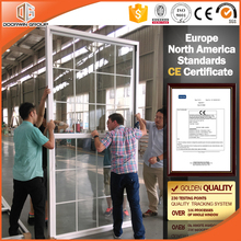 CE Thermal break American vertical sliding window design energy efficient aluminium single hung window