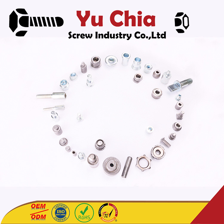 Customized M6 Stainless Thumb Screw Nut With Serration Round Slotted Nuts