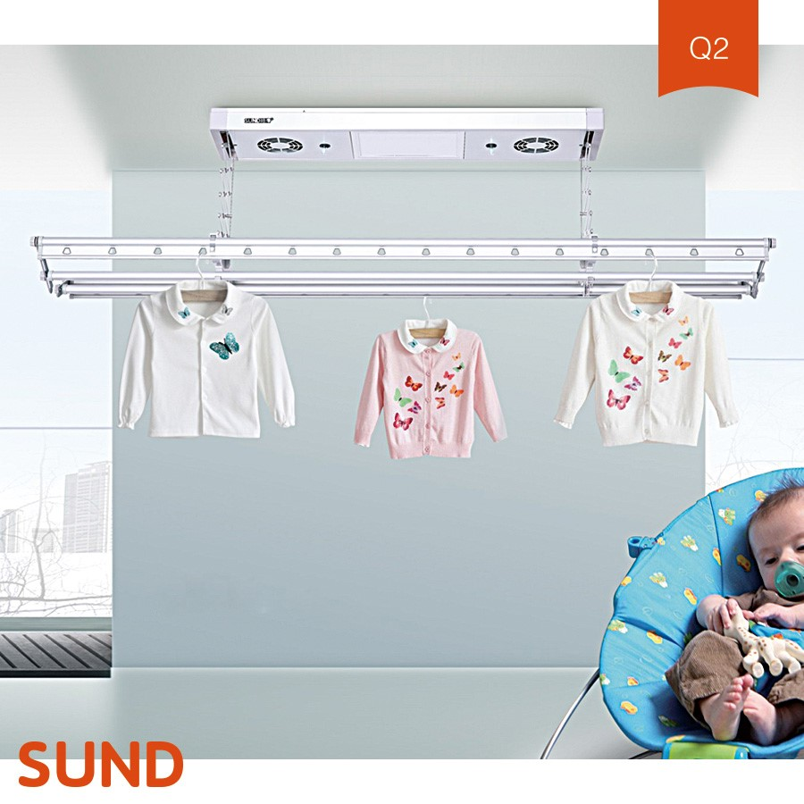 new design retractable clothes wall mounted clothes drying rack