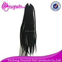 "2016 new arrival 22"" 120g 1# and 30# synthetic marley twist braid hair extension"