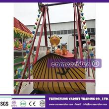 Cheap Sale children games, shopping mall kiddie swing rides mini pirate ship