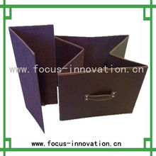 foldable non woven stool storage box