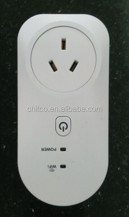 Australian standard style2 socket Wireless Plug Timer Wall Plug Phone Wireless Remote Control Home Appliance Automation
