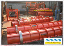 Centrifugal Spinning Cement Pipe making Machine, rcc drain pipe