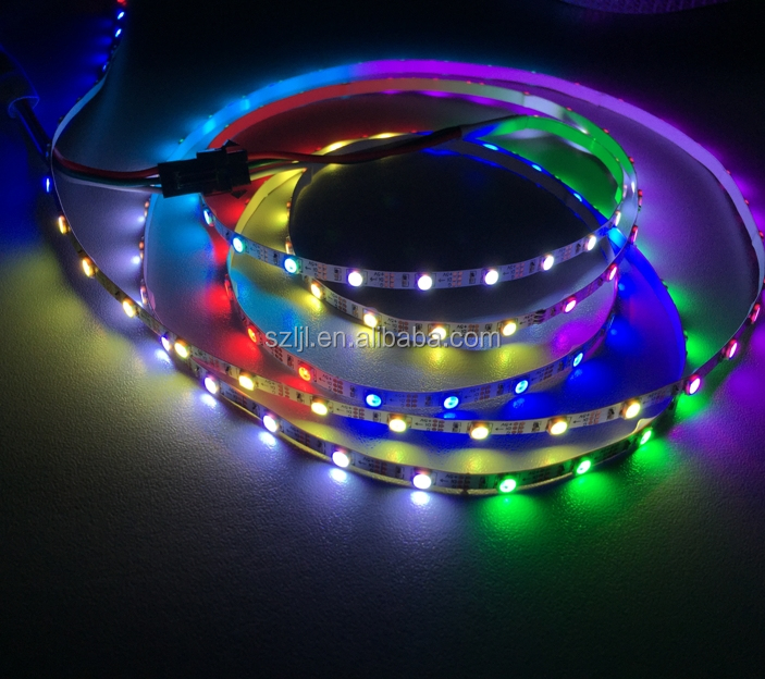 DMX LED Pixel <strong>RGB</strong> programmable 144leds/M 5V 5050 ws2812B strip
