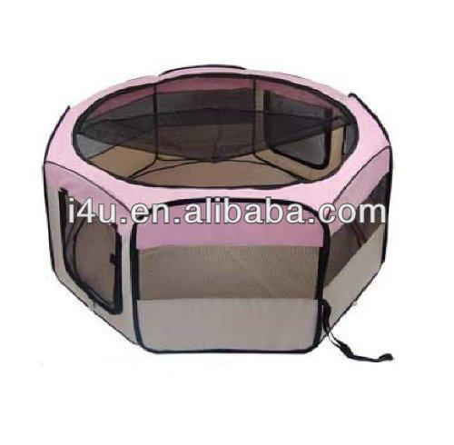 New 8-Panel Pink Pet Puppy Dog Playpen Exercise Pen kennel