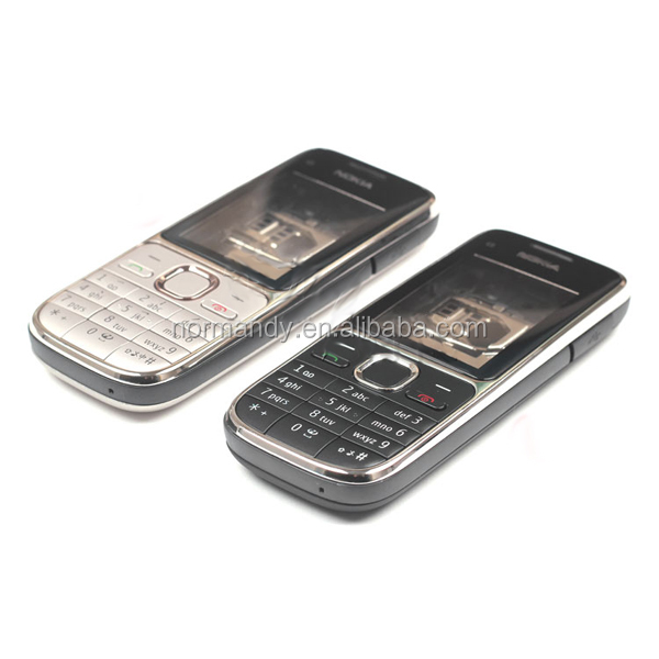 for nokia C2-01 full housing with keypad lens face cover battery door cell phone housing
