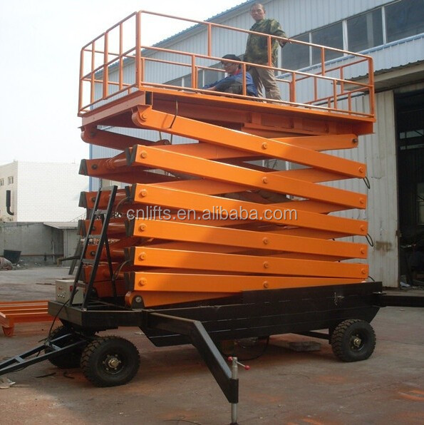 SJY 16m mobile hydraulic man lifts