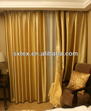 Blackout One Side Shinning Hotel Curtain