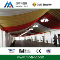 Well decorated outdoor luxury dubai tents for party supplies