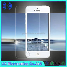 Factory Supply 9h Hardness Tempered Glass Screen Protector For IPHONE4/5(plating color one front/back)