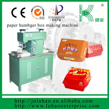 discount semi-automatic paper lunch box making machine in national day