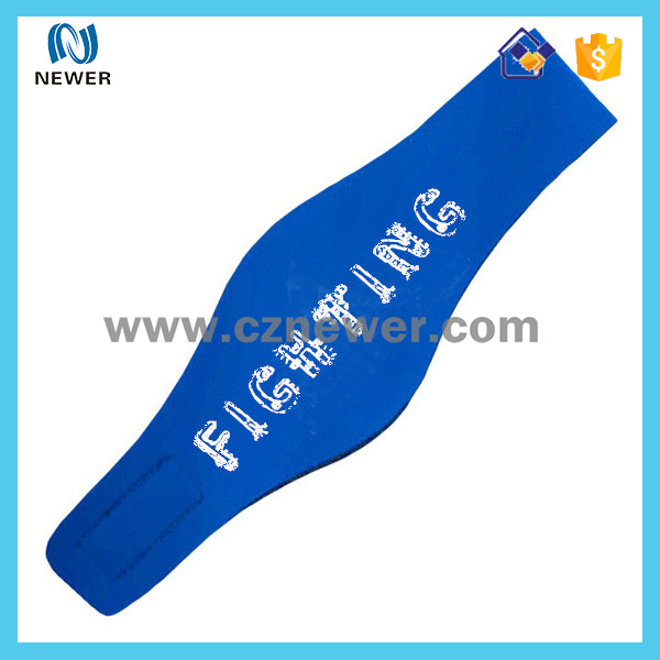 Promotional waterproof soft lightweight neoprene swimming headband