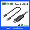 Standard phone cable type C dual USB 3.1 type-c cable