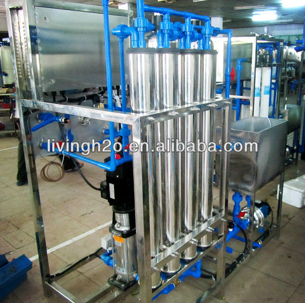 Africa market hot sell pure wate system packaged drinking water plant