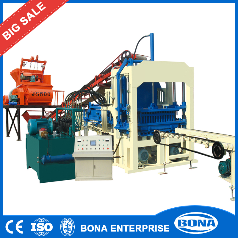 Innovative Construction Equipment Interlocking Hot Sale Brick Machine