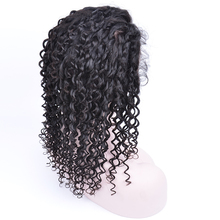 paypal cheap afro kinky curly cambodian human hair lace front wig with baby hair