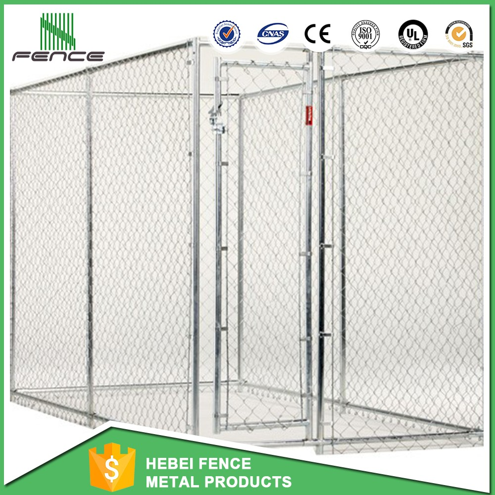 china double dog kennel/large dog run wholesale
