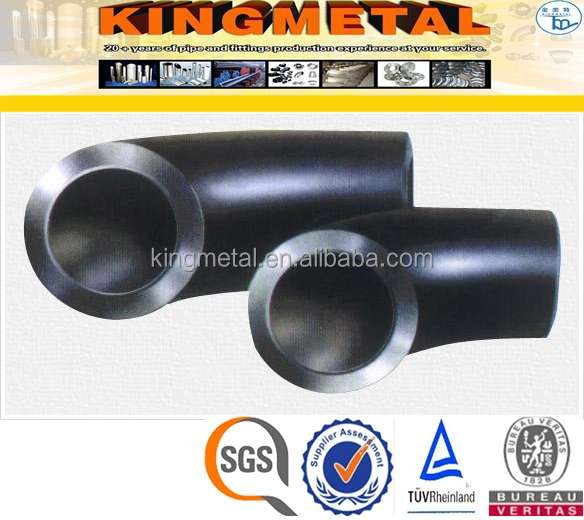 ASTM A105 High Pressure Carbon Steel 90Degree Elbow Pipe Fittings