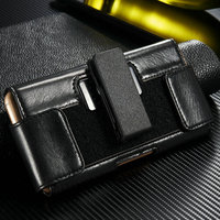 Luxury Leather Male Waist Clip Case for iphone 6 phone accesories 2015