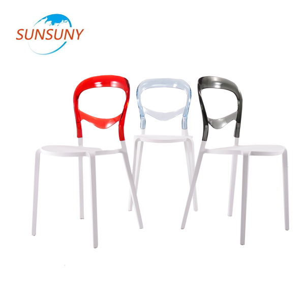 Alibaba price french style plastic dining room chair