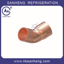 High Quality Refrigeration Copper 45 Street Elbow FTG x C