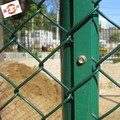Manufactory supply galvanized steel chain link fence poles