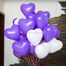 3G 12 inches standard color Latex Heart Balloon