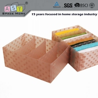 Easy to operate popular sale pvc sock storage box