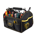 Mult-functional thickening larger open tool bag hand carry tool bag with logo customized