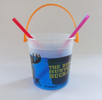 Chinese wholesale companies cheaper price for 32OZ plastic Bacardi rum bucket