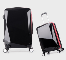 SHENGMING Unique ABS Travel Time Trolley Luggage Bag For Men And Women