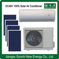 DC48V 100% off grid perfect air conditioner good using home solar power
