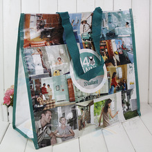 High Quality Hand Length Handle waterproof pp woven tote bag