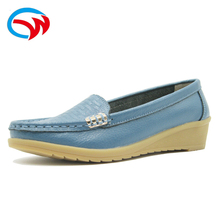 2018 new design summer female loafer ladies old women casual shoes